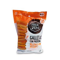 Galletas Freezen Con Arequipe 4 Pack