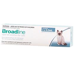 Broadline Spot On 0.6 A 2.5 Kg