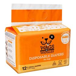Wags & Wiggles Pañales Talla Xs