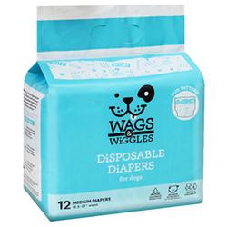 Wags & Wiggles Pañales Talla M