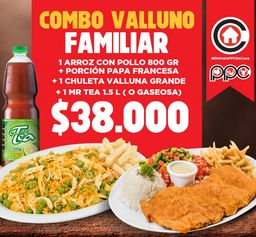 Combo valluno familiar ppc