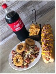 Combo Mega Hot Dog & Fries
