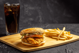 Combo de Top Chicken Burger