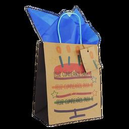 Bolsa para regalo Kraft OS