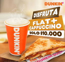Combo Flat y Cappuccino