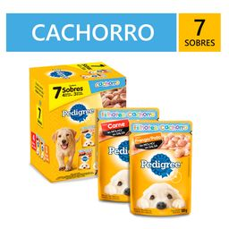 Pedigree Pack Cachorro 7 Sobres