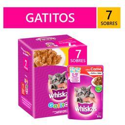 Whiskas Pack Gatitos 7 Sobres