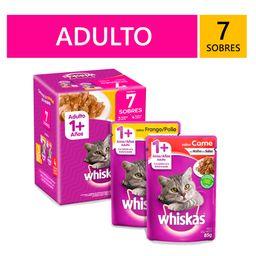 Whiskas Pack Adulto 7 Sobres