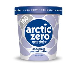Helado Vegano Arctic Zero Sabor Chocolate y Crema de Mani 16 Oz