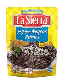 La Sierra Frijoles Refritos Negros Pouch