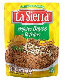 La Sierra Frijoles Refritos Bayos Pouch