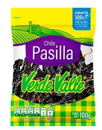 Verde Valle Chile Seco Pasilla