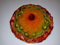 Cheesecake de Frutas Completo