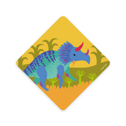 Toalla Bebé Dinosaurio