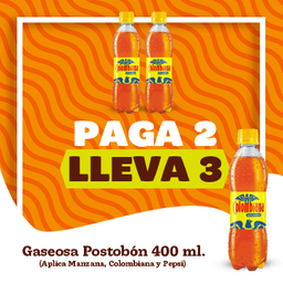 Promo Postobon 400ml