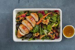 Ensalada Vegetales Asados con Pollo