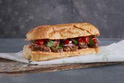 Sándwich de Carne Estofada