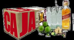 Caja de Cocteles Red Label/Ginger&Lemon Highball 15 Coctel 1 U