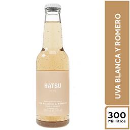 Soda Hatsu Uva Blanca y Romero 300 ml