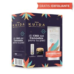 KIT NOCHE:Crema Hidratante Día+Regeneradora Noche;Obs Exfoliante
