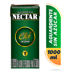 Aguardiente Verde Sin Azúcar Nectar