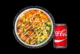 Pollo Crispy Bowl + Coca Cola