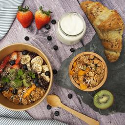 Parfait de Frutas + Croissant Cereales