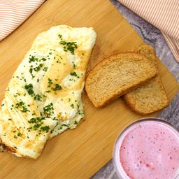 Omelette + Bebida