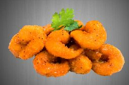 Porción De Camarones Mandariyaki