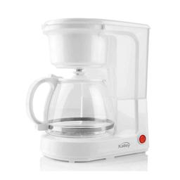 Cafetera Blanca Kalley K-CM100K 8 Tazas 750W