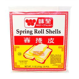 Wei Chuan Pieles Para Spring Rolls