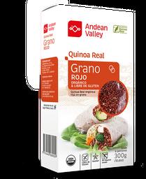 Andean Valley Grano de Quinoa Real Rojo Orgánico