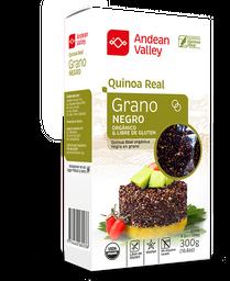 Andean Valley Grano de Quinoa Real Negro Orgánico