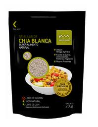 Andean Valley Semilla de Chía Blanca Libre de Gluten