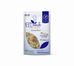 El Dorado Pasta de Arroz/ Rice Fusilli Artesanal Libre de Gluten