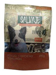 Salvaje Snacks Pollo, Cordero Y Salmón