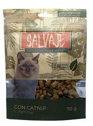 Salvaje Snacks Con Catnip