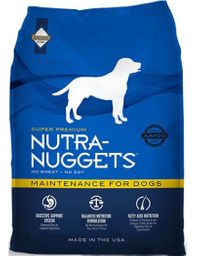 Alimento Nutra Nuggets Mantenimiento 15 Kg