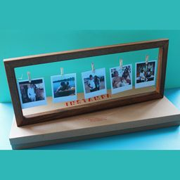 Cuadro de Madera Premium con 6 fotos