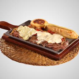 Carne del Rancho Arepa y Envuelto