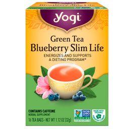 Yogi Té Green Tea Blueberry Slim Life