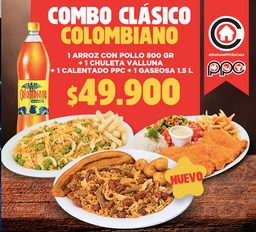 Combo clásico colombiano