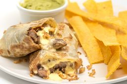 Philly Cheese Burrito