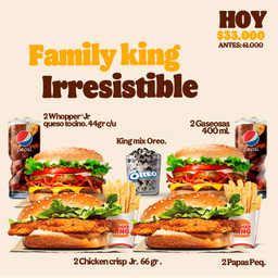 Combo Family King Irresistible