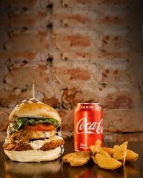 Combo en Hamburguesa Burger Meat