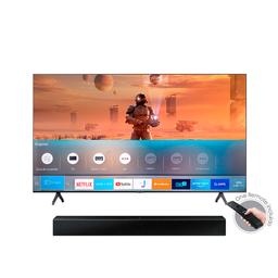 Samsung Combo One Box Un50Tu7000Kxzl hw+ Barra de Sonido T400/Zl