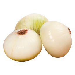 Cebolla Cabezona Blanca Grande Limpia