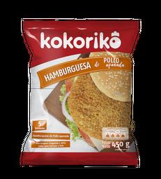 Kokoriko Hamburguesa de Pollo Apanado