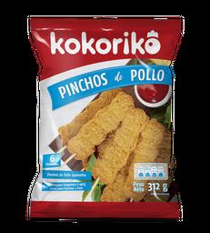 Kokoriko Pinchos de Pollo Apanado