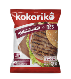 Kokoriko Hamburguesa de Res